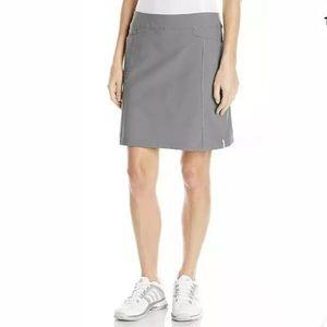 Adidas Adistar Pull On Women's Gray Skort Skirt